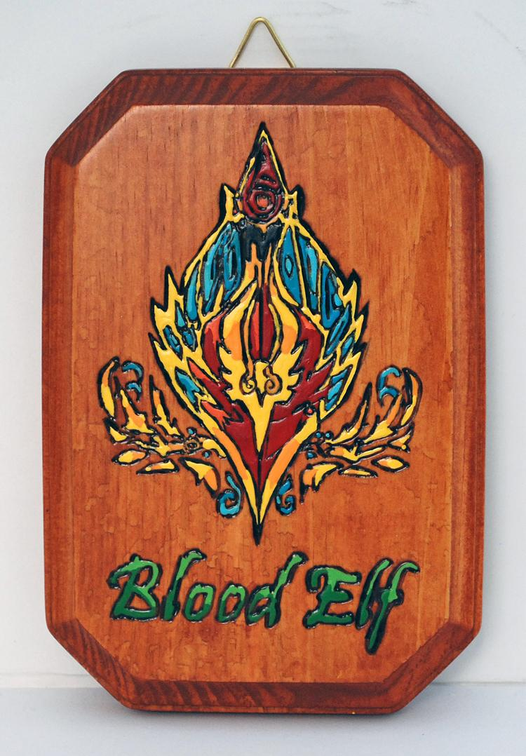 WORLD OF WARCRAFT: BLOOD ELF RACE CREST